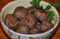 Greek Meatballs - Keftethes