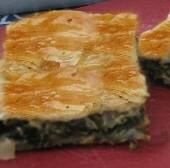 Spinach & Greens Savory Phyllo Pie