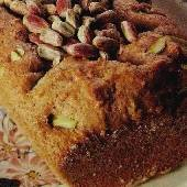 Greek Pistachio Honey Cake