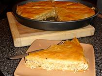 Chicken Phyllo Pie - Kotopita