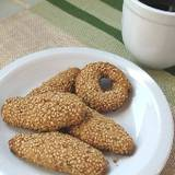 Greek Sesame (Olive Oil) Cookies