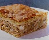 Melitzanopita - Eggplant & Meat Pie