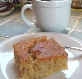 Greek Apple Coffee Cake