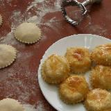 Myzithropitakia - Small Sweet Cheese Turnovers