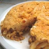 Leftover Pasta Omelet