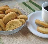 Orange Sesame Biscotti: Perfect for dunking!