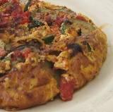 Zucchini & Tomato Omelet