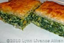 Spinach and Feta Cheese Pie - Spanakopita