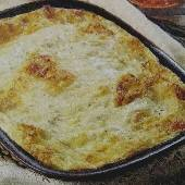 5-Cheese Pie with Mushrooms