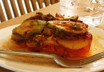 Layers of Vegetables in Savory Tomato Sauce - Briam