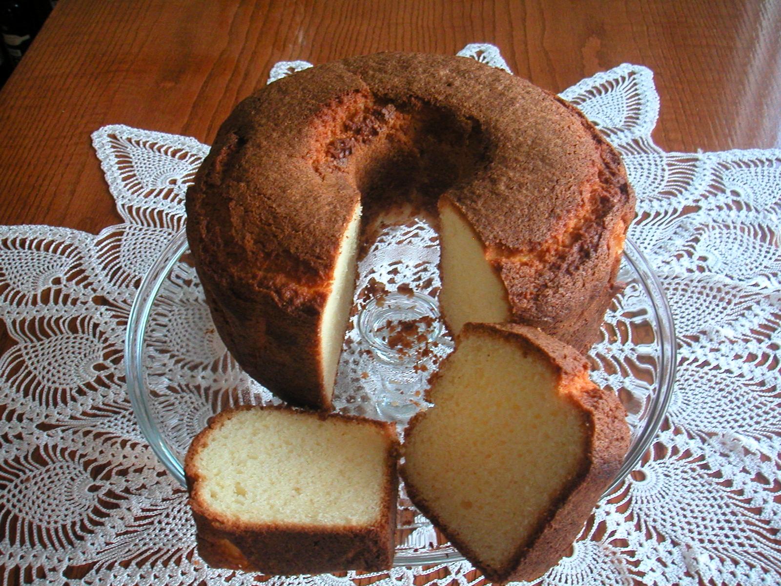 Cake Portokali (Orange Flavour Cake)