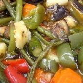 Oven-Stewed Mixed Vegetables