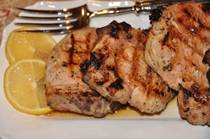 Greek-Style Grilled Pork Chops