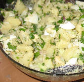 Potato Salad with Eggs