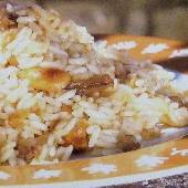 Rice with Almonds & Chestnuts