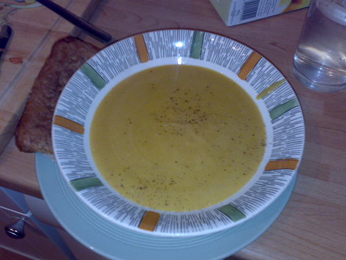 Yellow Pea Soup