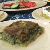 Spinach & Asparagus Bake