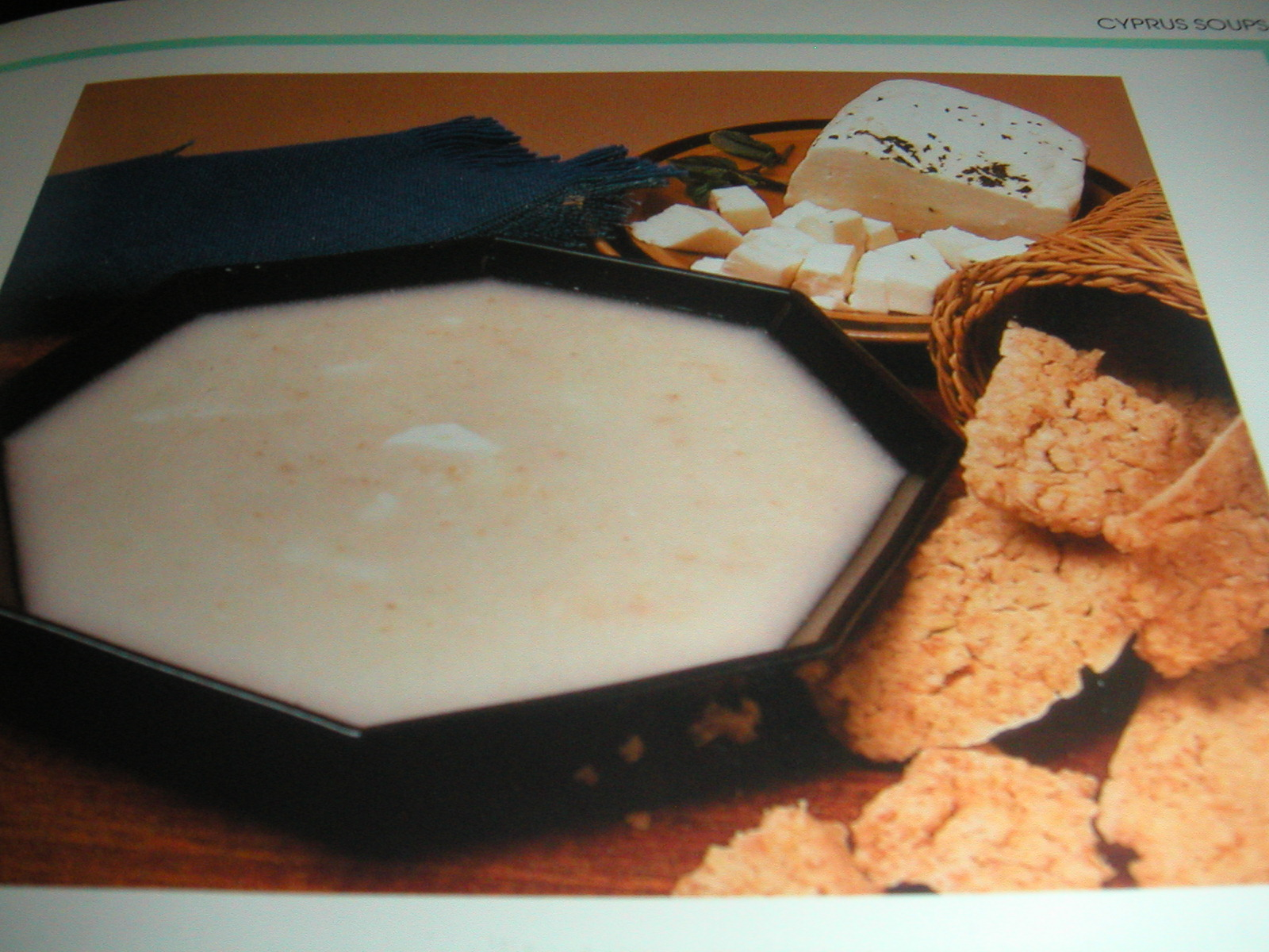 Trachanas (Dried Bulgur in Yogurt)