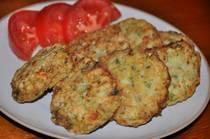Zucchini Fritters - Kolokithokeftethes