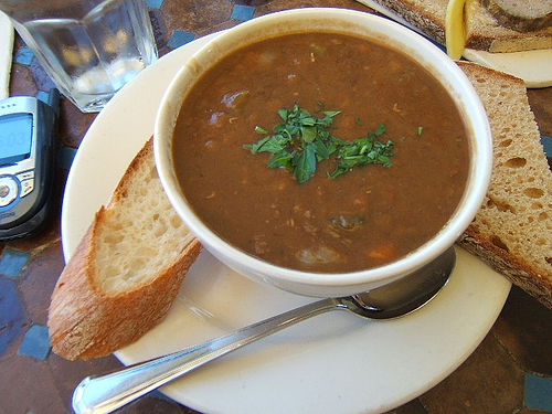 Lentil Soup with Vinegar