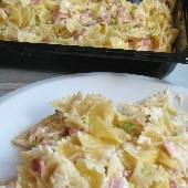 Easy Cheesy Baked Farfalle