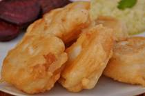 Fried Salt Cod - Bakaliaros