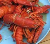 Northeastern US Lobster, Greek Recipe