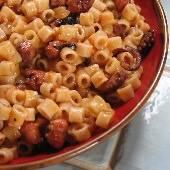 Pasta in Octopus Sauce