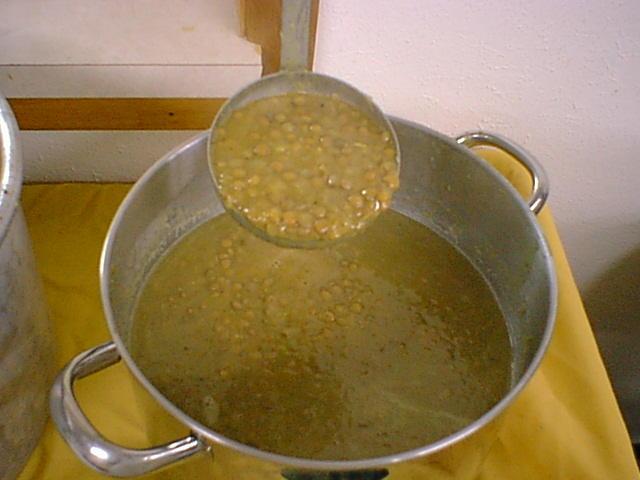 Dish Of lentils
