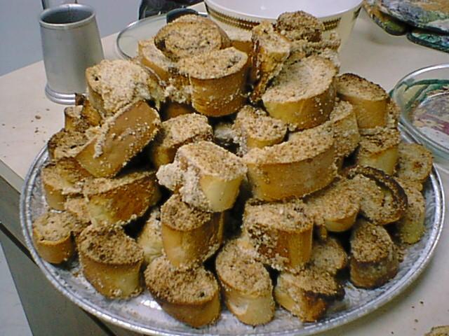 Khushkananaj (Almond Cake)