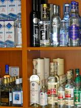 Ouzo for Sale in Plaka, Athens