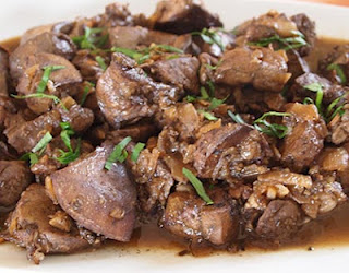 Pan fried Liver