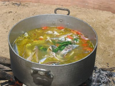 Kakavia A flavourful fish soup.