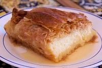Custard in Fillo Pastry - Galaktoboureko
