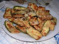 Fried Zucchinis with flour - Kolokithakia Tiganita