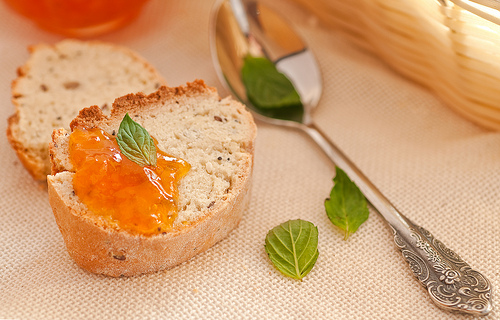 Homemade Peach Jam - Marmelatha Rothakino