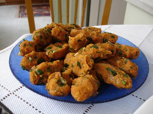 Lentil Croquettes - Keftethes me Fakes