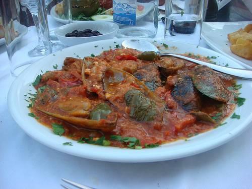 Mussels Saganaki - Mythia Saganaki