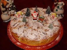 New Year's Cake - Vasilopita