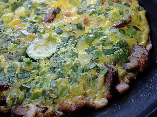 Oven Baked Omelette - Omeleta sto Fourno