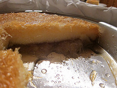Shredded Pastry with Custard - Kataifi me Krema