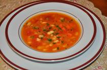 Classic White Bean Soup - Fassolatha