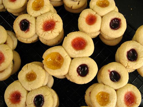 Cookies with Jam - Biskota Marmeladas