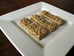 Honey-Sesame Snacks - Pasteli