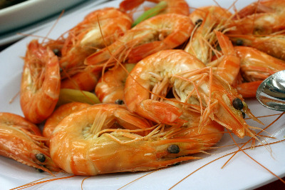 Fried Shrimps - Garides Tiganites
