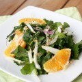 Arugula Salad with Fennel Root & Orange