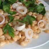 Bean Salad - Fasolia Xera Salata