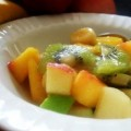 Fruit Salad with Orange Juice - Froutosalata