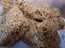 Sesame-Seed Brittle - Pastelli - Peloponnesos