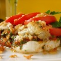 Baked Fish with Tomatoes (Spetsiota)